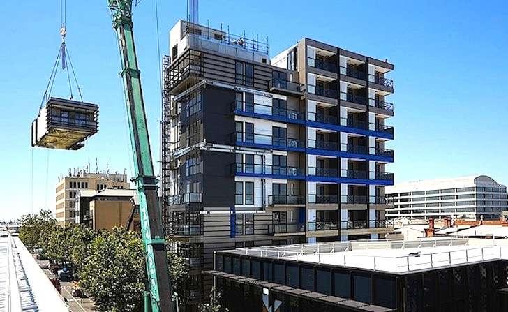 Impresa australiana costruisce palazzo di 9 piani in 5 for Palazzo a 4 piani