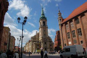 La Galaxy Gallery ha illuminato la città polacca di Torun