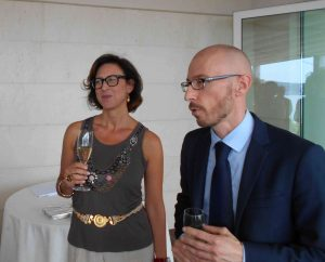 Margherita Chiaromonte e Stefan Zwicky