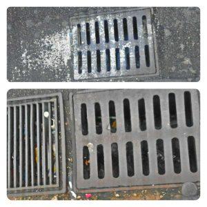 Superficiale e non efficace la pulizia dei tombini a Via Carducci. I cittadini segnalano