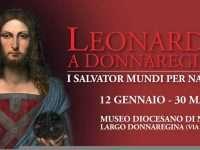 """Museo Diocesano di Napoli: esposizione del """"Salvator Mundi """" di Leonardo Da Vinci."""