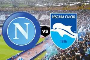 Il Napoli ospita il Pescara, con un occhio al Milan e alla Fiorentina