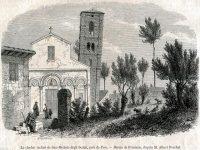 La Croce Pisana – Periodico Settimanale – (11 Giugno 1893).  Inaugurazione solenne dell'Istituto dei Frati Bigi nel subborgo alle Piagge