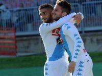 Napoli 3-0 Crotone: tutto facile per gli azzurri con un Insigne in gran forma