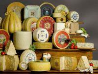Il formaggio se è DOP è riportato in etichetta.