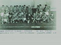 L'INVICTA CASORIA:  la prima squadra di calcio della città.