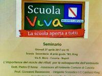 """""""Scuola Viva"""" alla Carducci-King.  Seminario sulla chiusura dei primi moduli."""