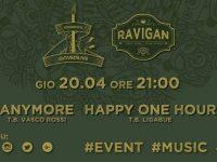 Anymore ed Happy One Hour al Ravigan. Tribute band di Vasco Rossi e Ligabue alla serata live del RistoPub
