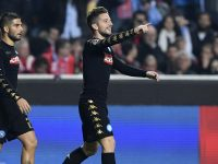 Napoli 3-0 Udinese: gli azzurri avvicinano la Roma che ora dista solo due punti