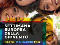 Successo per le celebrazioni della Settimana Europea della Gioventù a Napoli. Centinaia di ragazzi agli infopoint nella Galleria Principe Umberto.