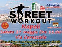 #SEBSStreetWorkoutNAPOLI L'ultima frontiera del fitness, sbarca a Napoli con lo Street Workout in compagnia della Squadra SEBS