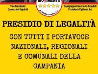 Presidio di legalità. Il Movimento 5 Stelle in piazza a Casoria