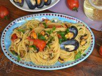 Le ricette di Virginia: Spaghetti con le cozze
