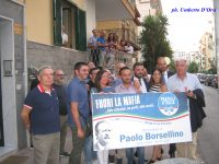 Grande affluenza presso l'associazione Alleanza per Casoria per ricordare il giudice Paolo Borsellino