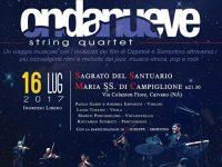 Caivano, domenica il concerto sotto le stelle degli Ondanueve String Quartet