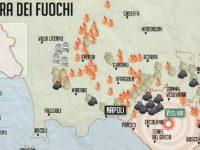 I dati sulle patologie tumorali nell'area a nord di Napoli La terra dei fuochi continua a bruciare!