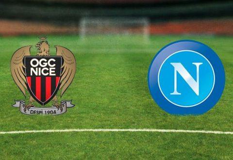 Champions League: Il Napoli di scena a Nizza. L'Uefa nega il lutto al braccio.