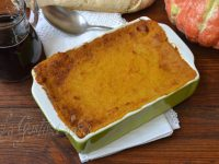 Le ricette di Virginia: Sformato di zucca e salsiccia