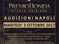 Il Premio Donida alla ricerca di nuovi talenti musicali:  audizioni a Napoli martedì 3 ottobre