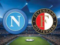Napoli-Feyenoord per il riscatto azzurro in Champions League