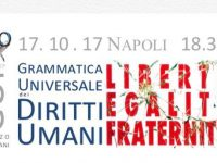 """""""Grammatica universale dei diritti umani"""", convegno a Napoli martedì 17 ottobre"""