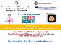 Importante evento dell' I.C. Ludovico da Casoria il 26 Ottobre dalle ore 15,30 alle ore 17,00, presso l'auditorium della sede centrale, in via Pio XII, 126 Casoria (NA).