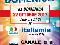 """Il 22 Ottobre su Italia Mia (Canale Italia), parte il nuovo format di Claudio Correale, """"Quelli della Domenica"""""""