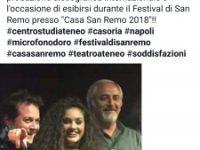 """Teatro Ateneo: Bianca Moccia prima classificata al concorso """"Microfono d'Oro"""""""