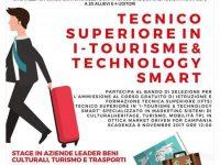Corso gratuito in I- Tourism & Tecnology Smart dedicato agli allievi delle scuole superiori. Info nell'articolo