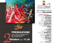 """""""Napoli Arte e Rivoluzione"""" , finissage lunedì 6 Ottobre: incontro con Daniela Wollmann, la curatrice dell'evento."""