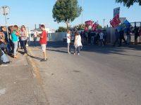 Protesta stamattina all'ex Carrefour, i manifestanti chiedono la convocazione di un consiglio comunale straordinario