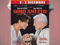 """Teatro Bracco, sabato 2 e domenica 3 dicembre Gabriel Garko con Ugo Pagliai e Paola Gassman in """"Odio Amleto"""