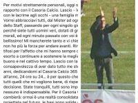 Casoria Calcio. Dimissioni del DG Cristarelli, un fulmine a ciel sereno per i tifosi.