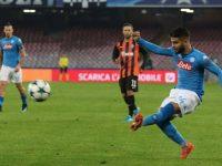 ChampionsLeague,Il Napoli batte loShakthare resta in corsa.