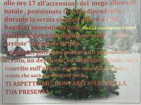 Riceviamo e pubblichiamo: Festa al Quartiere Stella per il giorno 8 dicembre