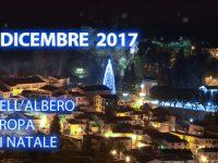 Accensione dell'albero più alto d'Europa & VI ª Edizione Mercatini di Natale CAPOSELE 08-09- 10 dicembre 2017