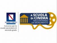 """""""A Scuola di Cinema, Raccontando un monumento"""". Concorso per le scuole secondarie di secondo grado della  Regione Campania in collaborazione con la Film Commission Regione Campania"""