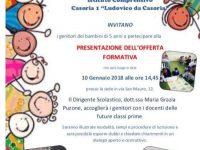 I.C. Casoria 1 Ludovico da Casoria. Open day il giorno 10 Gennaio alle ore 14,45