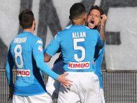 Questa volta il Napoli doma l'Atalanta: vittoria e primato confermato