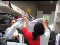 """Aveva gridato in un centro commerciale e il video era diventato virale: ecco come ha reagito la """"signora del pellicciotto"""""""