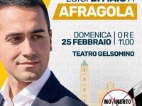 Luigi Di Maio a Afragola: il leader del movimento Cinquestelle incontra la cittadinanza