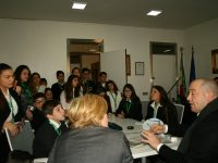 Incontro ravvicinato: gli studenti dell'istituto Giacomo Puccini incontrano il sindaco di Casoria
