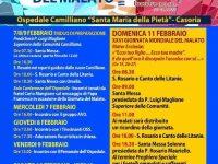 """XXVI Giornata Mondiale Del Malato 11 Febbraio 2018 presso Ospedale Camilliani """"Santa Maria della Pietà"""" – Casoria"""