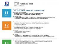 La Regione Campania alla Borsa Internazionale del Turismo di Milano 11 – 13 febbraio 2018