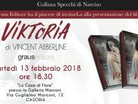 Vi aspettiamo martedi 13 Febbraio 2018 Ore 18:30 alla casa di Fiore presso la Galleria Marconi di Casoria Via Guglielmo Marconi 12