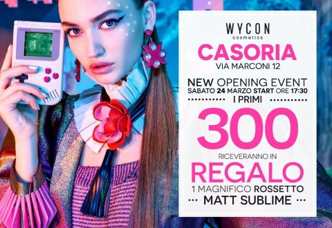 """Wycon sbarca a Casoria. Galleria Marconi la nuova location del gruppo """"Wycon cosmetics"""""""