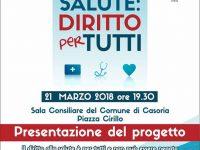 """Evento """"Salute: diritto di tutti"""", il sindaco vara un comunicato stampa"""