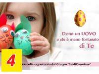 Pasqua all'insegna della generosità a Casoria: centinaia le uova raccolte per i bisognosi