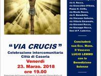 """""""Via Crucis a Casoria"""": l'evento si svolgerà questo venerdì e passerà per molte vie del comune"""