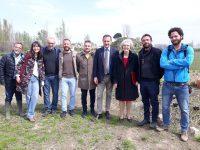 L'ambasciatore canadese in visita alla Masseria Ferraioli di Afragola il sindaco Tuccillo: grande interesse al museo della biodiversita'
